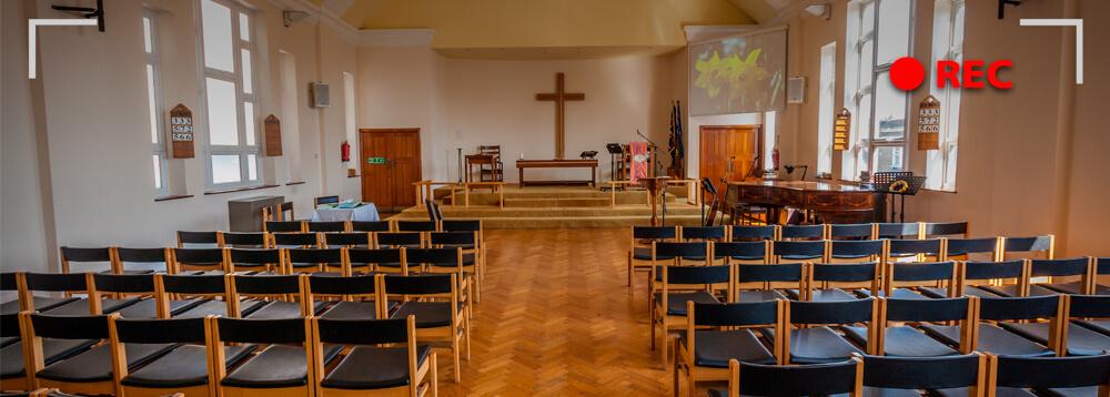 transmissao de culto ao vivo para igrejas rec