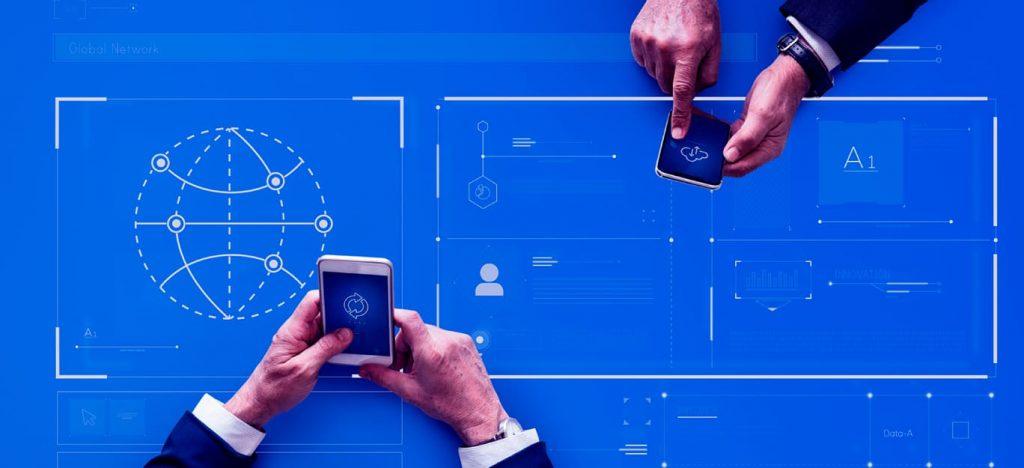 conectividade-mundo-dos-negocios-dois-homens