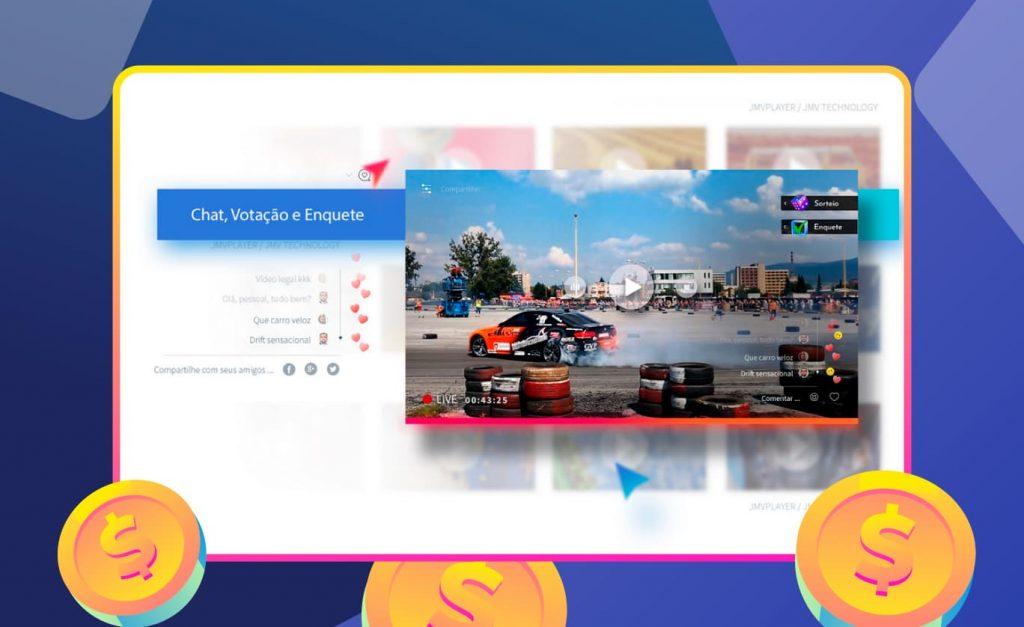 live-social-corrida-de-carro-interacao-usuario