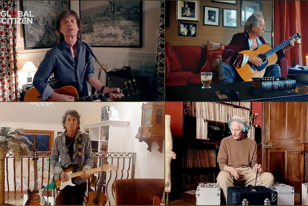 Live compartilhada da banda Rolling Stones