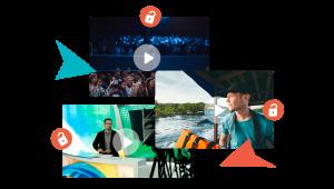 player de video jornalista aventura evento transmissao sem quedas por direitos autorais como armazenar gerenciar distribuir videos on demand vod 300x170