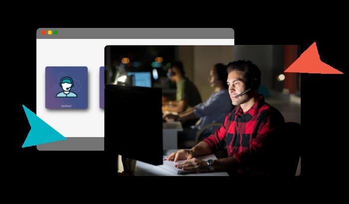 hombre-trabaja-con-auriculares-soporte-premium-alojamiento-de-videos-jmvstream
