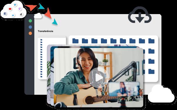 mulher-gravando-videos-para-plataforma-de-hospedagem-de-videos