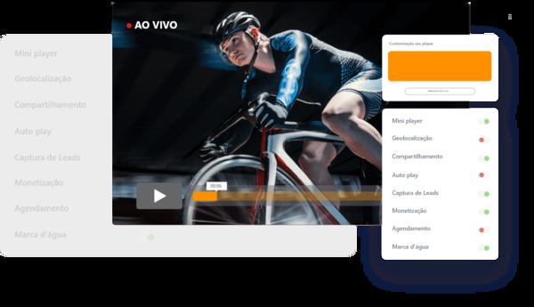 mulher-ciclista-pedalando-streaming-de-video-ao-vivo
